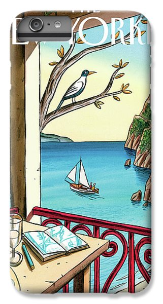 Boats iPhone 7 Plus Case - New Yorker April 18th, 2011 by Jacques de Loustal