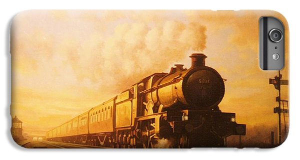 Train iPhone 7 Plus Case - Up Express To Paddington by Mike Jeffries