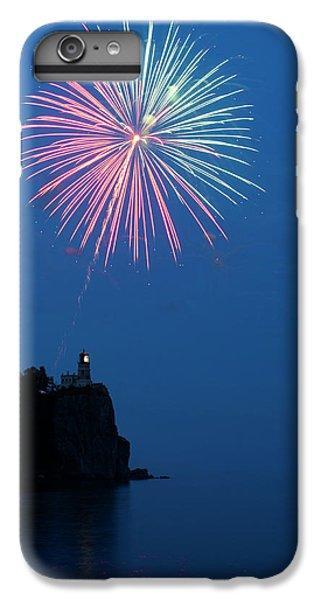 Lake Superior iPhone 7 Plus Case - Usa, Minnesota, Two Harbors, Split Rock by Peter Hawkins