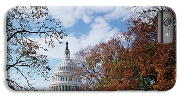 Capitol Building iPhone 7 Plus Case - Usa, Washington Dc, View Of Capitol by Scott T. Smith