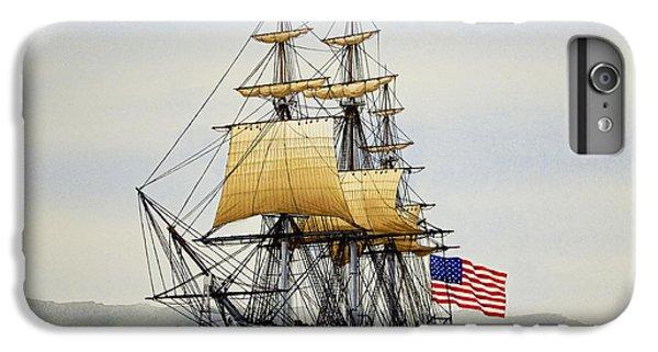 Ship iPhone 7 Plus Case - Uss Constitution by James Williamson