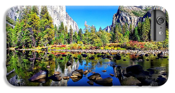Valley View Reflection Yosemite National Park IPhone 7 Plus Case by Scott McGuire