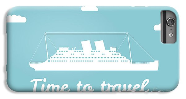 Ship iPhone 7 Plus Case - Vector An Illustration With The Image by Dukesn