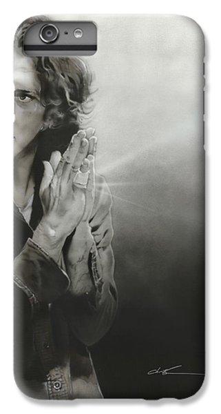 Eddie Vedder - ' Vedder Iv ' IPhone 7 Plus Case by Christian Chapman Art