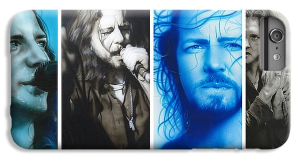 Eddie Vedder - ' Vedder Mosaic I ' IPhone 7 Plus Case by Christian Chapman Art