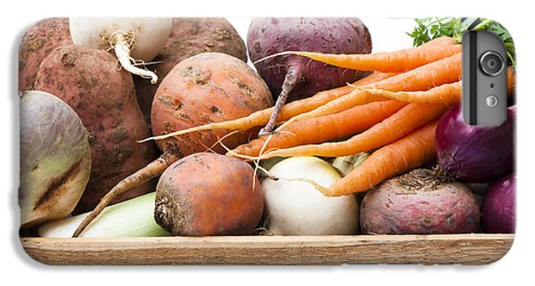 Veg Box IPhone 7 Plus Case by Anne Gilbert