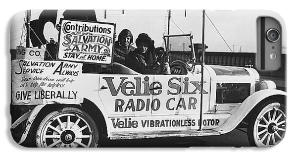 Donation iPhone 7 Plus Case - Velie Six Radio Car by Underwood & Underwood