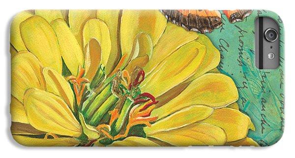 Ladybug iPhone 7 Plus Case - Verdigris Floral 2 by Debbie DeWitt