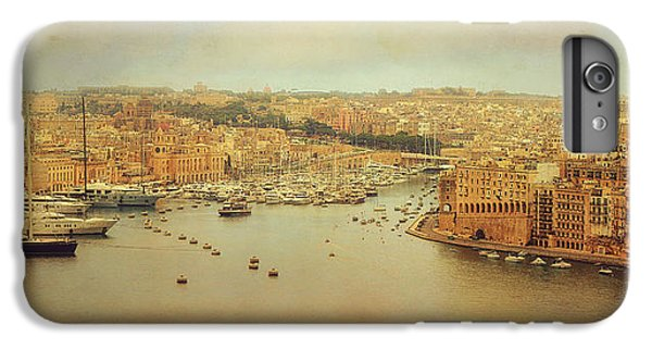 Boats iPhone 7 Plus Case - View From Upper Barakka, Valletta, Malta by Ellen Van Deelen