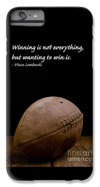 Vince Lombardi On Winning IPhone 7 Plus Case