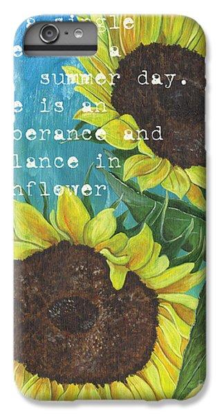 Sunflower iPhone 7 Plus Case - Vince's Sunflowers 1 by Debbie DeWitt