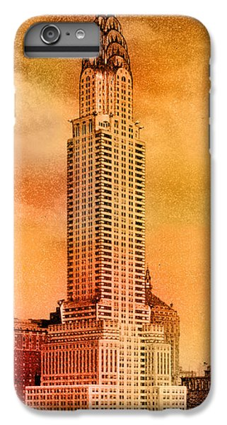 Chrysler Building iPhone 7 Plus Case - Vintage Chrysler Building by Andrew Fare