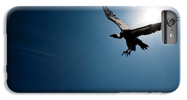 Vulture Flying In Front Of The Sun IPhone 7 Plus Case by Johan Swanepoel