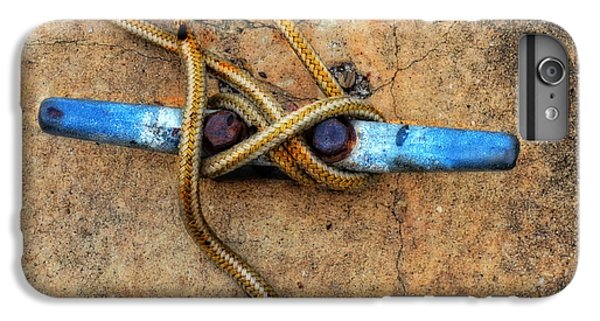 Boat iPhone 7 Plus Case - Waiting - Boat Tie Cleat By Sharon Cummings by Sharon Cummings