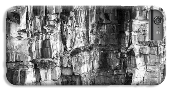 IPhone 7 Plus Case featuring the photograph Wall Of Rock by Miroslava Jurcik