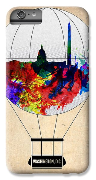Washington D.c iPhone 7 Plus Case - Washington D.c. Air Balloon by Naxart Studio