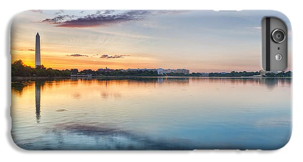 IPhone 7 Plus Case featuring the photograph Washington Dc Panorama by Sebastian Musial