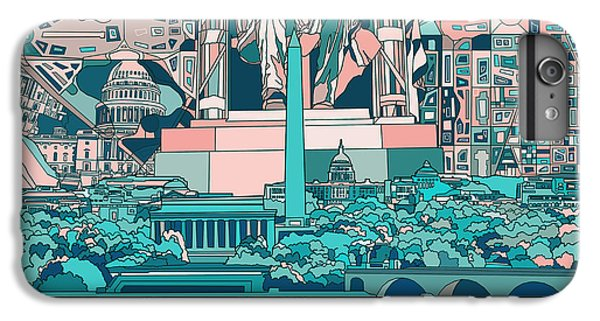 Washington Dc Skyline Abstract 5 IPhone 7 Plus Case