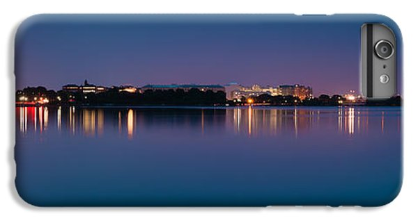 IPhone 7 Plus Case featuring the photograph Washington Skyline by Sebastian Musial