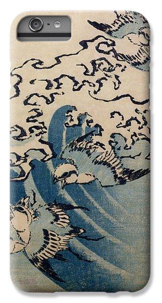 Waves And Birds IPhone 7 Plus Case by Katsushika Hokusai