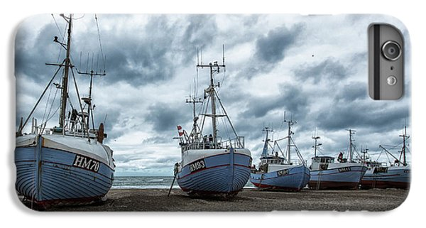 Boats iPhone 7 Plus Case - West Coast Fishing Boats. by Leif L??ndal