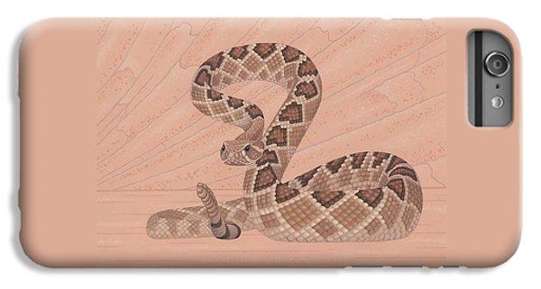 Diamondback iPhone 7 Plus Case - Western Diamondback Rattlesnake by Nathan Marcy
