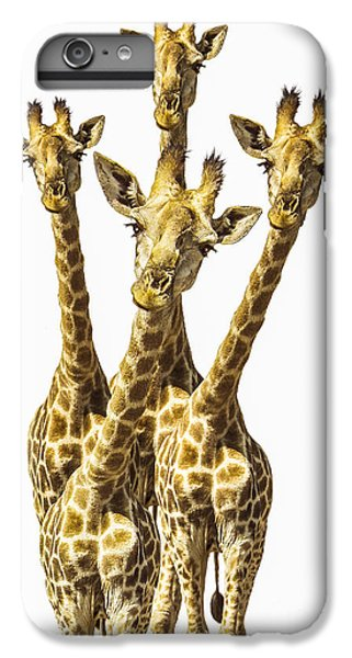 What Are You Looking At? IPhone 7 Plus Case by Diane Diederich