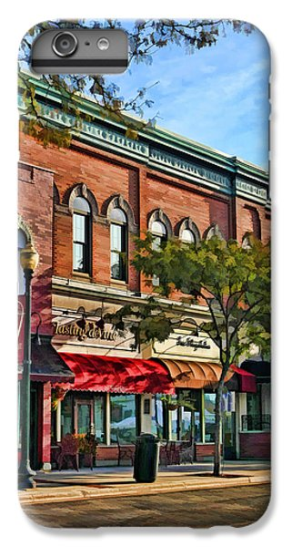 Wheaton Front Street Stores IPhone 7 Plus Case by Christopher Arndt