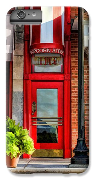 Wheaton Little Popcorn Shop Panorama IPhone 7 Plus Case by Christopher Arndt