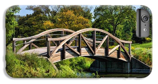 Wheaton Northside Park Bridge IPhone 7 Plus Case by Christopher Arndt