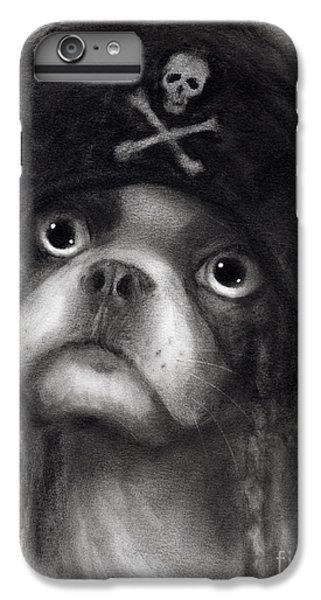 Whimsical Funny French Bulldog Pirate  IPhone 7 Plus Case