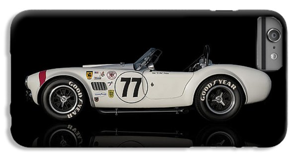 White Cobra IPhone 7 Plus Case by Douglas Pittman