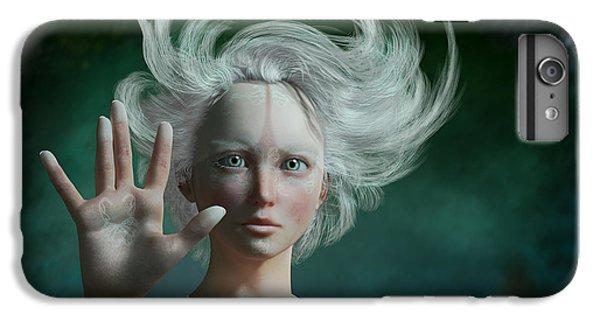 Elf iPhone 7 Plus Case - White Faun by Britta Glodde