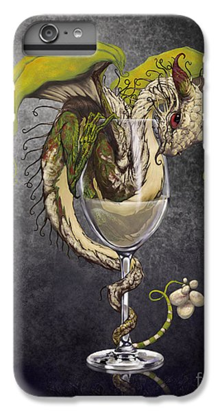 Dragon iPhone 7 Plus Case - White Wine Dragon by Stanley Morrison