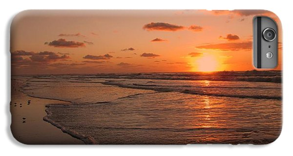 Sandpiper iPhone 7 Plus Case - Wildwood Beach Sunrise II by David Dehner