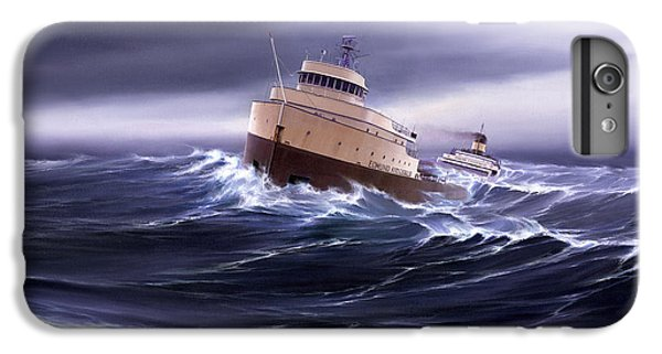 Lake Superior iPhone 7 Plus Case - Wind And Sea Astern by Captain Bud Robinson