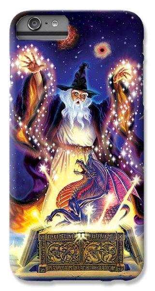 Wizard Dragon Spell IPhone 7 Plus Case by Andrew Farley