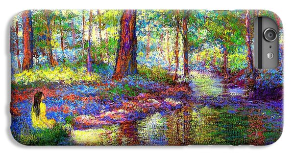 Figurative iPhone 7 Plus Case - Woodland Rapture by Jane Small