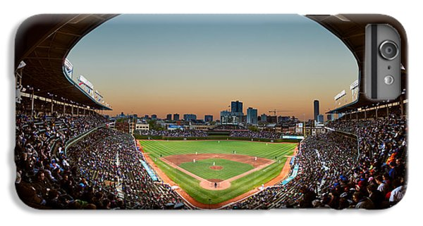Wrigley Field iPhone 7 Plus Case - Wrigley Field Night Game Chicago by Steve Gadomski