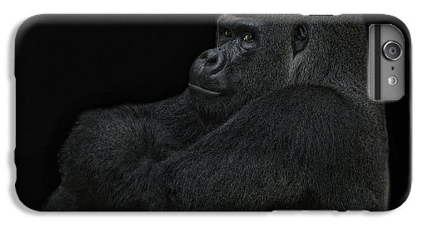 Gorilla iPhone 7 Plus Case - yes I m the great pretender by Joachim G Pinkawa