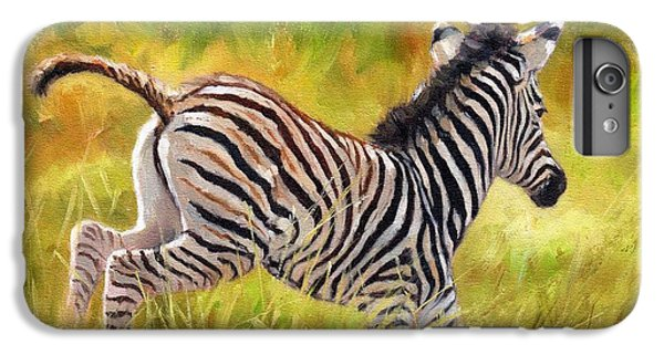 Young Zebra IPhone 7 Plus Case by David Stribbling