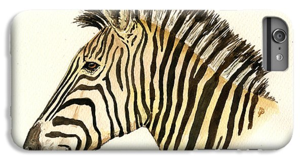 Zebra Head Study IPhone 7 Plus Case by Juan  Bosco