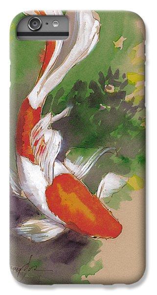 Koi iPhone 7 Plus Case - Zen Comet Goldfish by Tracie Thompson