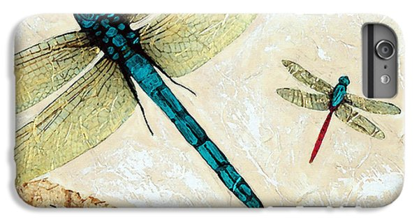 Dragon iPhone 7 Plus Case - Zen Flight - Dragonfly Art By Sharon Cummings by Sharon Cummings