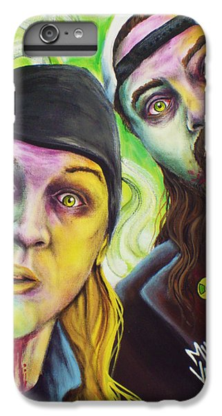 Ben Affleck iPhone 7 Plus Case - Zombie Jay And Silent Bob by Mike Vanderhoof