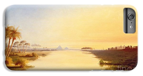 Ibis iPhone 7 Plus Case - Egyptian Oasis by John Williams