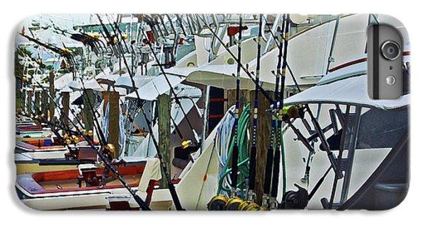 Shrimp Boats iPhone 7 Plus Case - Fishing Fleet by Michael Thomas
