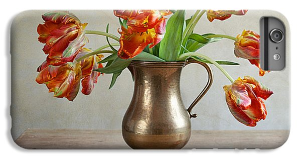 Tulip iPhone 7 Plus Case - Still Life With Tulips by Nailia Schwarz