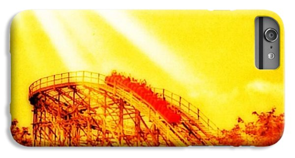 iPhone 7 Plus Case - #amazing Shot Of A #rollercoaster At by Pete Michaud
