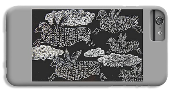 And Sheep Can Fly IPhone 7 Plus Case by Nareeta Martin